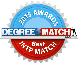 DegreeMatch.org - 2015 Awards - Best INTP Match